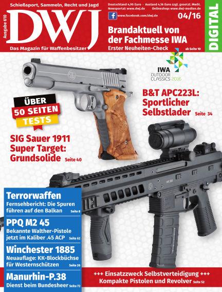 DWJ - Das Magazin für Waffenbesitzer March 23, 2016 00:00