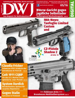 DWJ - Das Magazin für Waffenbesitzer 05/2016