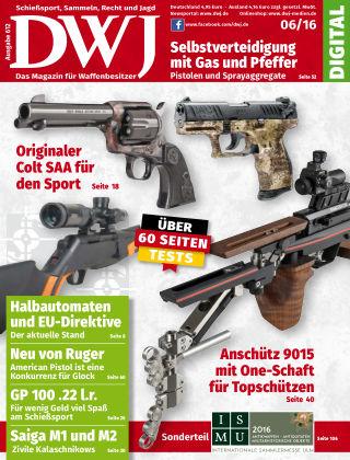 DWJ - Das Magazin für Waffenbesitzer 06/2016