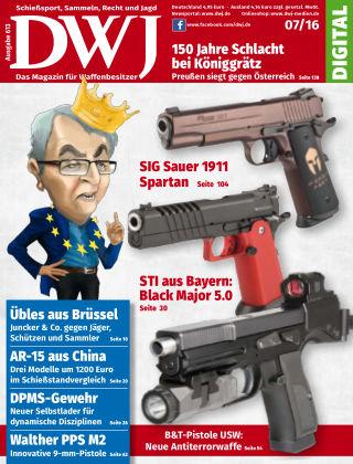 DWJ - Das Magazin für Waffenbesitzer  07/2016