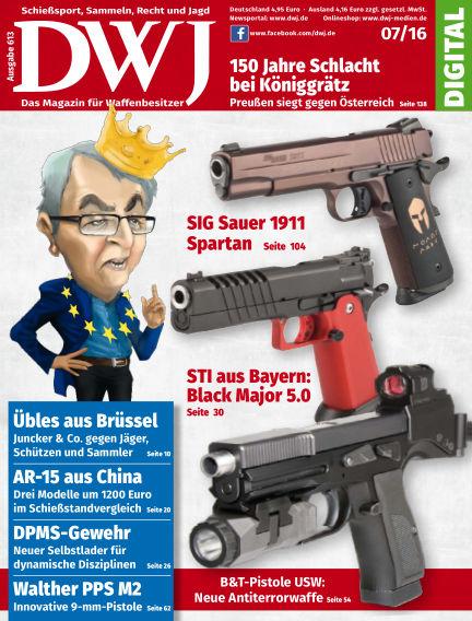 DWJ - Das Magazin für Waffenbesitzer June 22, 2016 00:00