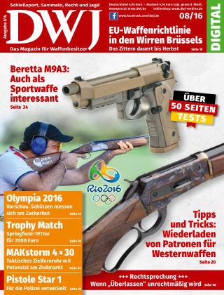 DWJ - Das Magazin für Waffenbesitzer 08/2016