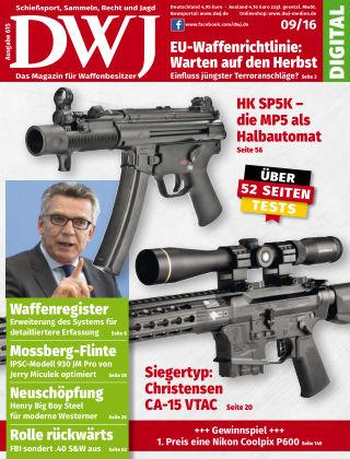 DWJ - Das Magazin für Waffenbesitzer 09/2016