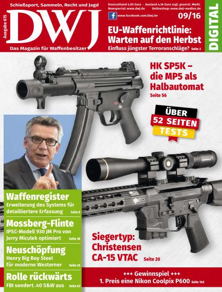 DWJ - Das Magazin für Waffenbesitzer August 24, 2016 00:00