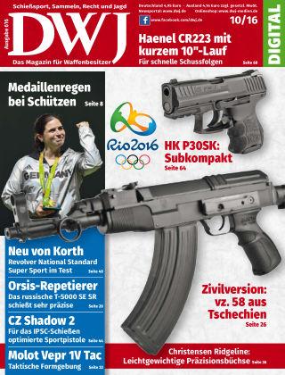 DWJ - Das Magazin für Waffenbesitzer 10/2016
