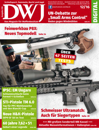DWJ - Das Magazin für Waffenbesitzer 12/2016