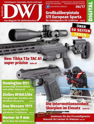 DWJ - Das Magazin für Waffenbesitzer 06/2017