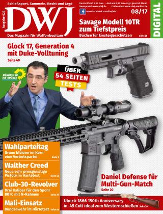 DWJ - Magazin für Waffenbesitzer  08/2017