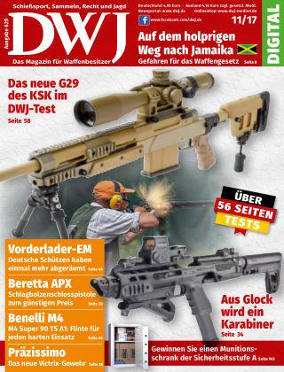DWJ - Das Magazin für Waffenbesitzer  11/2017