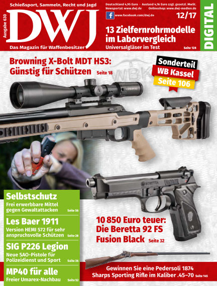 DWJ - Das Magazin für Waffenbesitzer November 22, 2017 00:00
