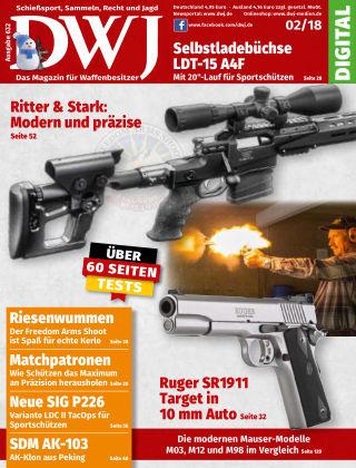 DWJ - Das Magazin für Waffenbesitzer 02/2018