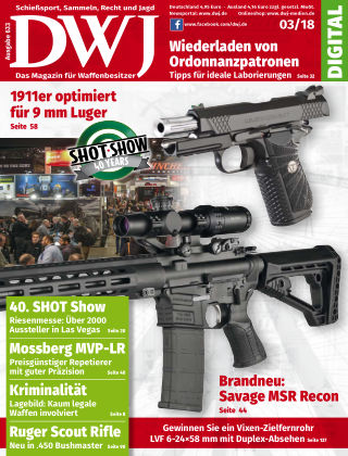 DWJ - Das Magazin für Waffenbesitzer 03/2018