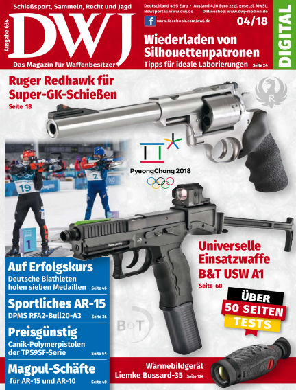 DWJ - Das Magazin für Waffenbesitzer March 21, 2018 00:00