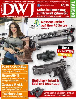 DWJ - Das Magazin für Waffenbesitzer 05/2018