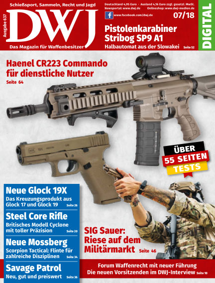 DWJ - Das Magazin für Waffenbesitzer June 20, 2018 00:00