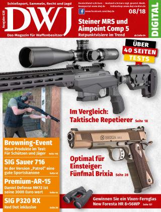 DWJ - Magazin für Waffenbesitzer 08/18