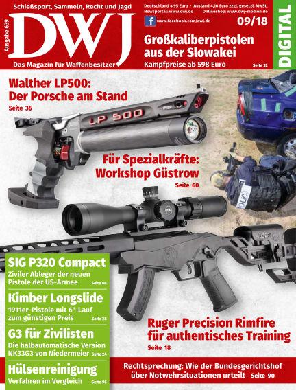DWJ - Das Magazin für Waffenbesitzer August 22, 2018 00:00