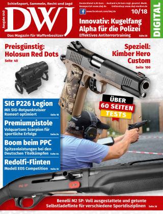 DWJ - Das Magazin für Waffenbesitzer 10/2018