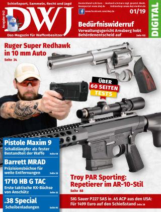 DWJ - Das Magazin für Waffenbesitzer 01/19