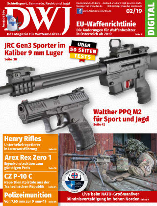 DWJ - Das Magazin für Waffenbesitzer 02/19