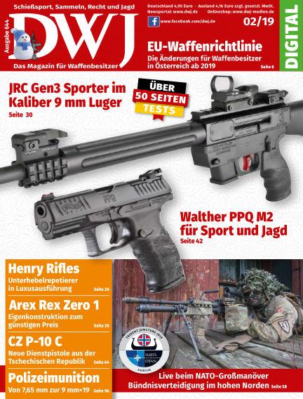 DWJ - Das Magazin für Waffenbesitzer January 23, 2019 00:00