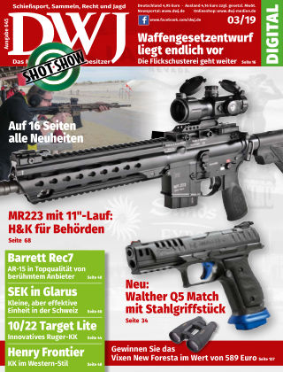 DWJ - Magazin für Waffenbesitzer 03/19