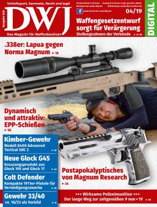 DWJ - Das Magazin für Waffenbesitzer 04/19