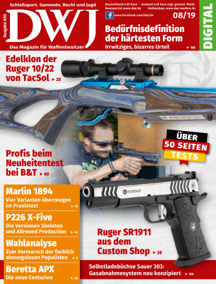DWJ - Das Magazin für Waffenbesitzer July 24, 2019 00:00