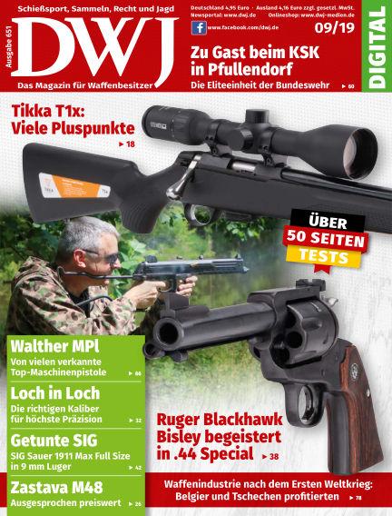DWJ - Das Magazin für Waffenbesitzer August 21, 2019 00:00