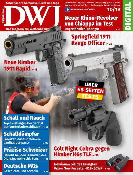 DWJ - Das Magazin für Waffenbesitzer September 18, 2019 00:00