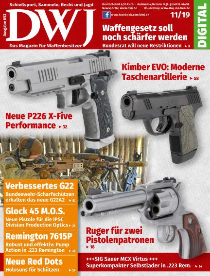 DWJ - Das Magazin für Waffenbesitzer October 23, 2019 00:00