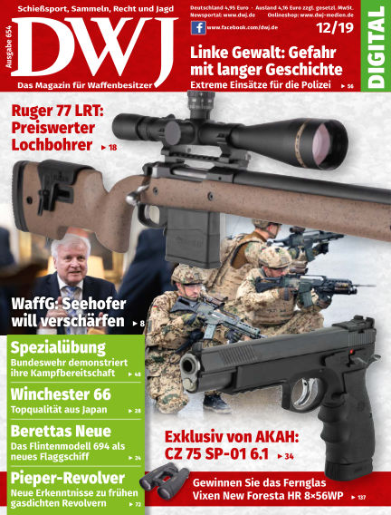 DWJ - Das Magazin für Waffenbesitzer November 20, 2019 00:00