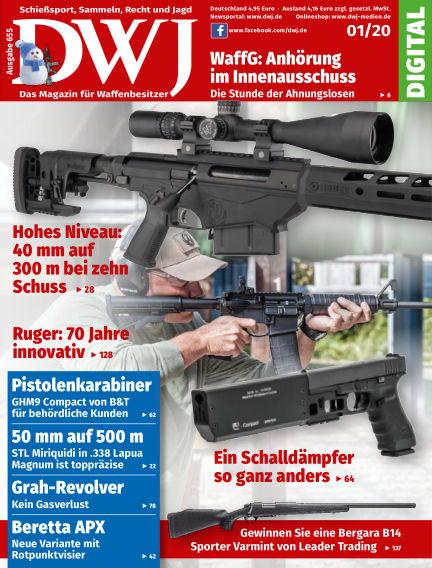 DWJ - Das Magazin für Waffenbesitzer December 18, 2019 00:00