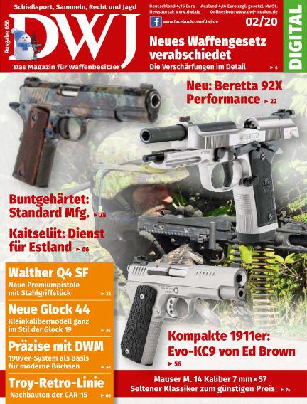 DWJ - Das Magazin für Waffenbesitzer January 29, 2020 00:00