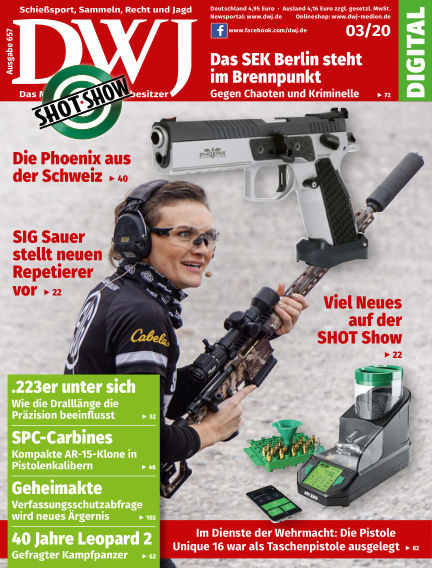 DWJ - Das Magazin für Waffenbesitzer February 26, 2020 00:00
