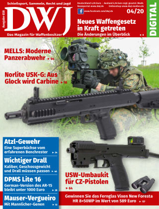 DWJ - Das Magazin für Waffenbesitzer 04/2020