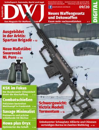 DWJ - Das Magazin für Waffenbesitzer 09/2020