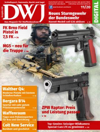 DWJ - Das Magazin für Waffenbesitzer 11/2020