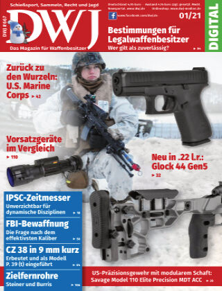 DWJ - Das Magazin für Waffenbesitzer 01/2021