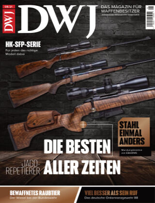 DWJ - Das Magazin für Waffenbesitzer 08/2021