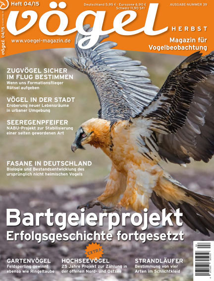 VÖGEL - Magazin für Vogelbeobachtung September 04, 2015 00:00