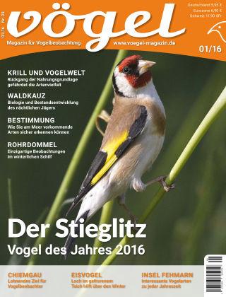 VÖGEL - Magazin für Vogelbeobachtung 01/16