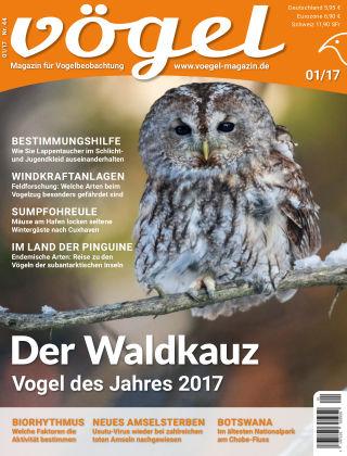 VÖGEL - Magazin für Vogelbeobachtung 01/17