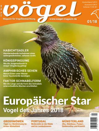 VÖGEL - Magazin für Vogelbeobachtung 01/18