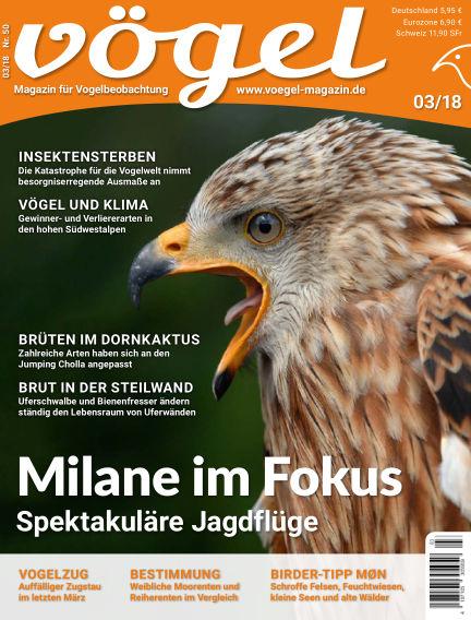 VÖGEL - Magazin für Vogelbeobachtung June 01, 2018 00:00