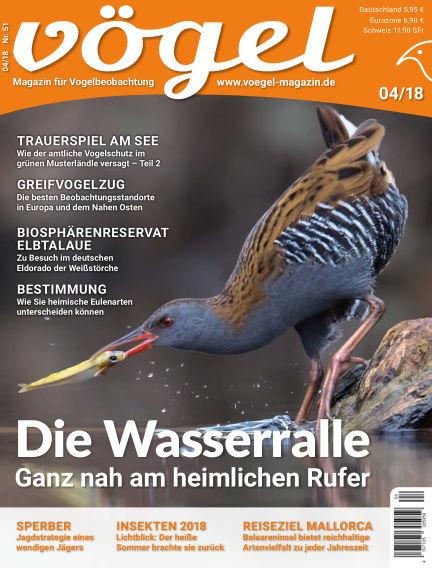 VÖGEL - Magazin für Vogelbeobachtung September 07, 2018 00:00