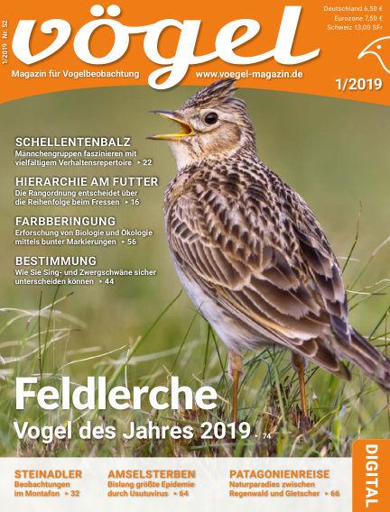 VÖGEL - Magazin für Vogelbeobachtung December 07, 2018 00:00