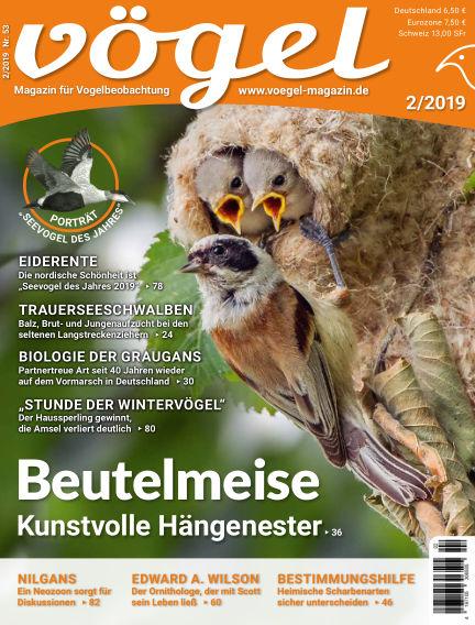 VÖGEL - Magazin für Vogelbeobachtung March 01, 2019 00:00