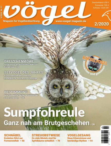 VÖGEL - Magazin für Vogelbeobachtung March 06, 2020 00:00