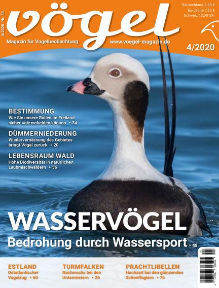 VÖGEL - Magazin für Vogelbeobachtung September 04, 2020 00:00